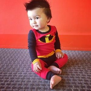 Disney Incredibles Jack Jack costume baby pajamas